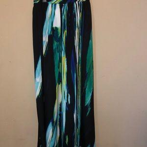 Worthington Multi Color Maxi Skirt